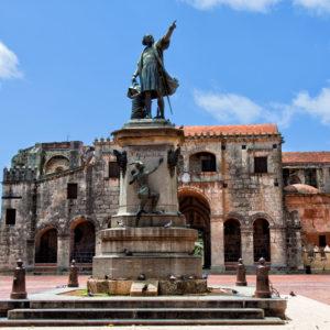Kolumbus-Statue